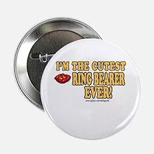 Cutest Ring Bearer Ever Button
