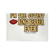 Cutest Ring Bearer Ever Rectangle Magnet