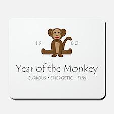 """Year of the Monkey"" [1980] Mousepad"