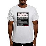 Freedom of Speech the Cornerstone Ash Grey T-Shirt