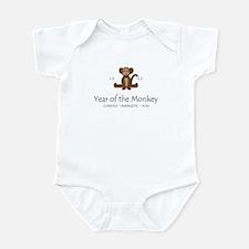"""Year of the Monkey"" [1992] Infant Bodysuit"
