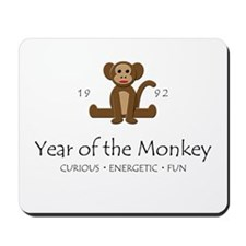 """Year of the Monkey"" [1992] Mousepad"