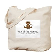"""Year of the Monkey"" [1992] Tote Bag"