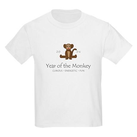 """Year of the Monkey"" [2002] Kids T-Shirt"