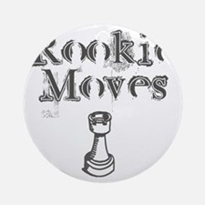 Rookie Moves Round Ornament