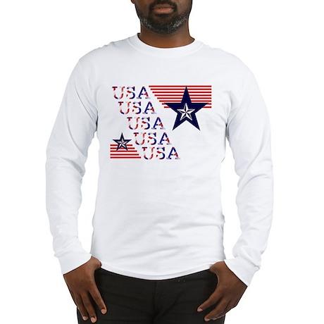 USA Patriotic Long Sleeve T-Shirt