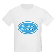 Grandpa's Best Buddy Kids T-Shirt