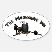 Thee Moonshine Inn Decal
