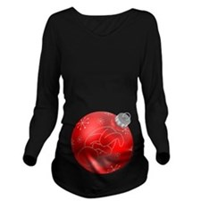 Christmas Ornament Long Sleeve Maternity T-Shirt