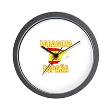 Funny Costa brava Wall Clock