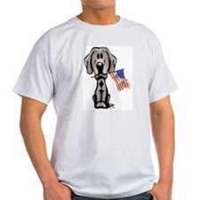 Weimaraner USA Ash Grey T-Shirt