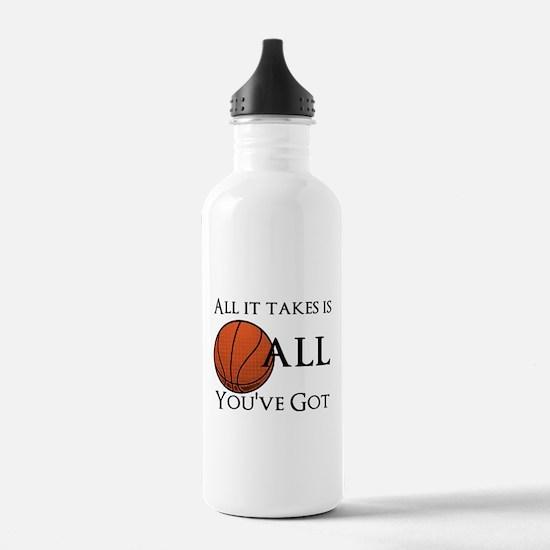 All It Takes Water Bottle