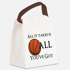 All It Takes Canvas Lunch Bag