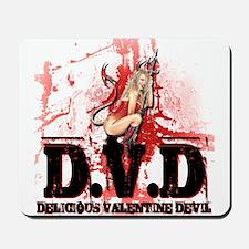 Delicious Valentine Devil Mousepad