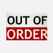 Out Of Order Sign TBBT Magnets