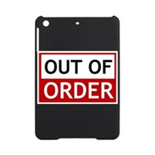 Out Of Order Sign TBBT iPad Mini Case