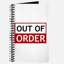 Out Of Order Sign TBBT Journal