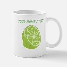 Custom Sliced Lime Mugs