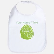 Custom Sliced Lime Bib