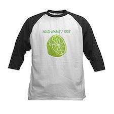 Custom Sliced Lime Baseball Jersey