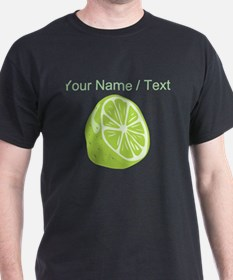 Custom Sliced Lime T-Shirt
