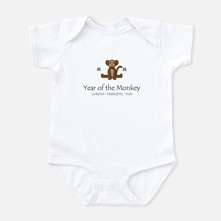 """Year of the Monkey"" Infant Bodysuit"
