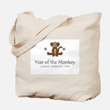 """Year of the Monkey"" Tote Bag"