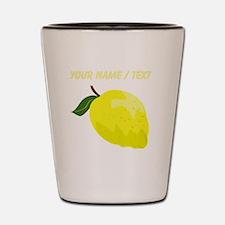 Custom Yellow Lemon Shot Glass