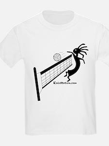 Kokopelli Volleyball Player Kids T-Shirt