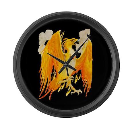 The Phoenix Large Wall Clock