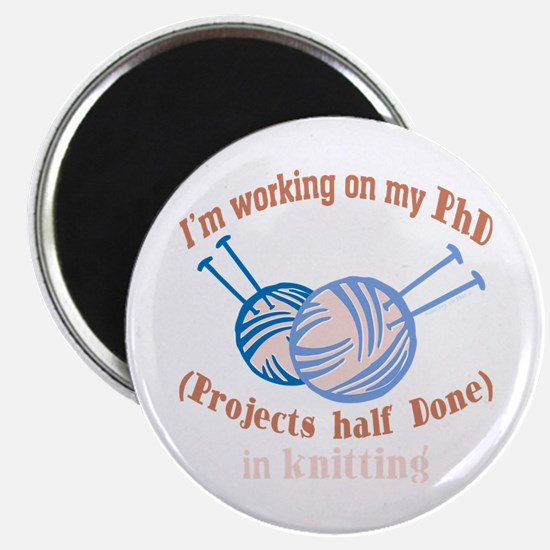 Working on Phd Crafts Magnets