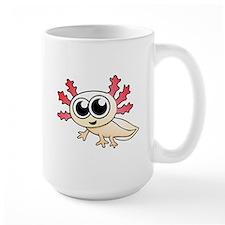 Cartoon Axolotl Mugs