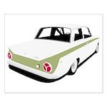 Lotus Cortina Small Poster