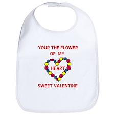 FLOWER OF MY HEART Bib