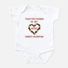 FLOWER OF MY HEART Infant Bodysuit
