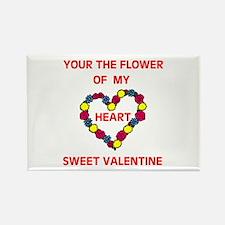 FLOWER OF MY HEART Rectangle Magnet