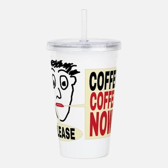 Please Coffee Coffee N Acrylic Double-wall Tumbler