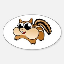 Cartoon Chipmunk Decal