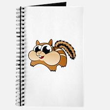Cartoon Chipmunk Journal