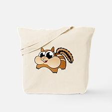 Cartoon Chipmunk Tote Bag