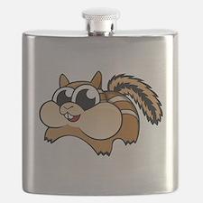 Cartoon Chipmunk Flask