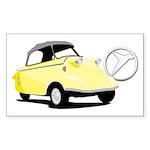 Messerschmitt Rectangle Sticker