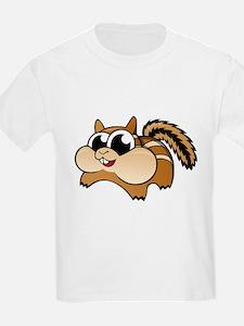 Cartoon Chipmunk T-Shirt