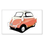 Isetta Rectangle Sticker