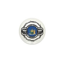 New York Hockey Mini Button