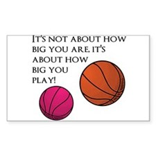 How Big You Are Decal