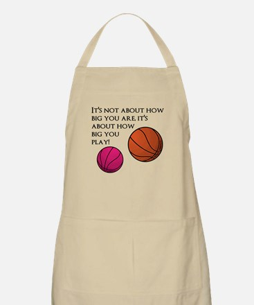 How Big You Are Apron