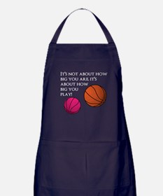 How Big You Are Apron (dark)