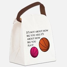 How Big You Are Canvas Lunch Bag