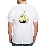 Fullerton Surf Isetta White T-Shirt